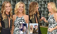 7/6/16* Harry's exes Chelsy Davy and Cressida Bonas look cosy at party