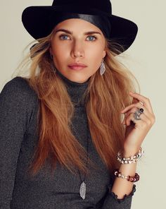Put your hat on, for this Autumn fashion look with #metallic shirt #PANDORA wood charms and bangles #PANDORAmagazine #style