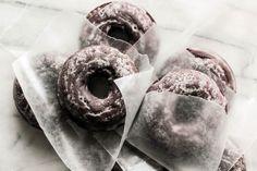 keroiam: Recipe: Glazed Chocolate Cake Doughnuts My favorite...