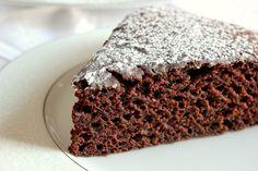Quick Chocolate Cake, also vegan