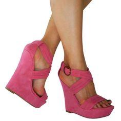 Pink Wedge
