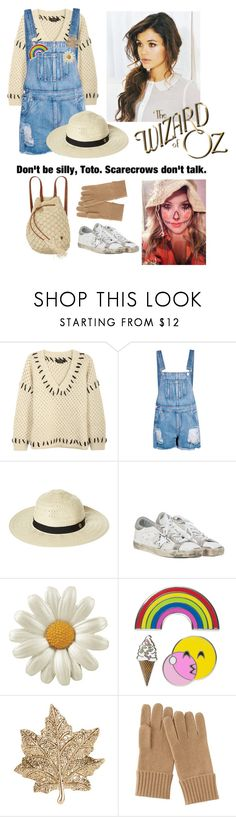 """""""The scarecrow - wizard of oz"""" by mbubbles109 ❤ liked on Polyvore featuring Isabel Marant, Boohoo, Rip Curl, Golden Goose, iDecoz, Accessorize, Uniqlo and Billabong"""