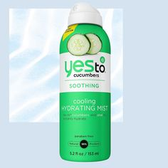 These 10 Cooling Beauty Products Will Help You Beat the Heat - Yes To Cucumbers Soothing Cooling Hydrating Mist  from InStyle.com