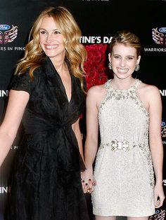 Julia Roberts and her niece, Emma