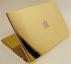 laptop..all gold.. just one million..oooh..lottery luxury