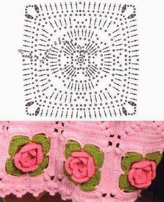 Delicadezas en crochet Gabriela: Puntillas en ganchillo