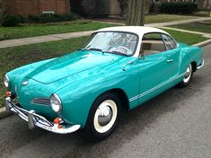 Made in Switzerland: '60 Volkswagen Karmann Ghia Coupe