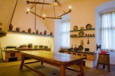 Die Küche im Celler Schloss.