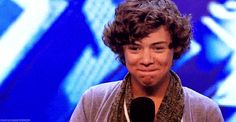 And, in particular, when Harry Styles made this very important squirrelly audition face.