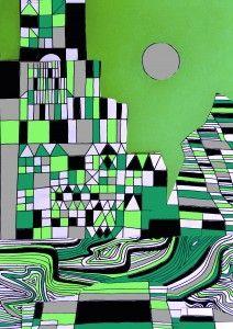 Paul Klee Collage: 5 worksheets