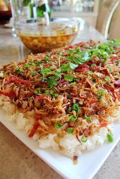 Welcome to Eatlover Kitchen: CÁC MÓN XÔI- Xoi Lap Xuong Ga Quay
