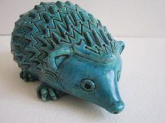 Mid Century Ceramic Hedgehog by 20thCenturyGoods on Etsy, $22.00