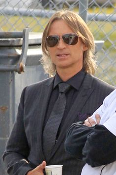 Robert. Carlyle once upon a time - cute for an older guy :)