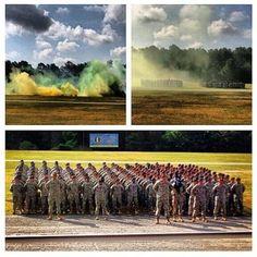 Ft Jackson, SC Army Basic Training Graduation