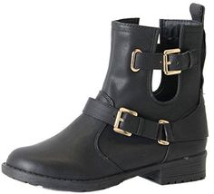 8709cfde05ed8 Womens Ladies Combat Style Army Worker Military Flat Low heel Lace Up Ankle  Boots Size. UK boots. Women boots. It s an Amazon affiliate link.