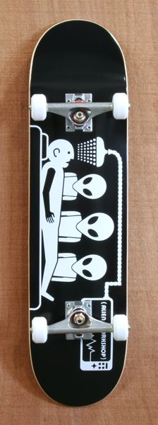 "Alien Workshop Abduction 8.0"" Skateboard Complete"