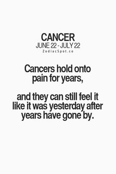 Astrology cancer hookup cancers that cause