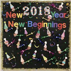 New Years Bulletin Board | January Bulletin Boards ...
