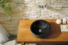 Virtu USA Adonia Bathroom Vessel Sink in Shanxi Black Granite