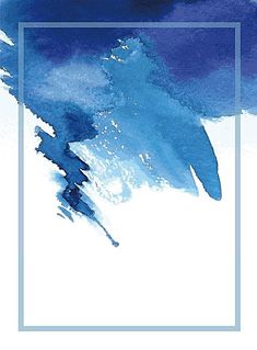 Vector watercolor background and fresh ink., Vector, blue, watercolor, background rnrnSource by moonartdreams Watercolor Water, Watercolor Wallpaper, Watercolor Background, Watercolor Paintings, Watercolor Texture, Watercolor Wedding, Painting Abstract, Blue Wallpapers, Blue Backgrounds