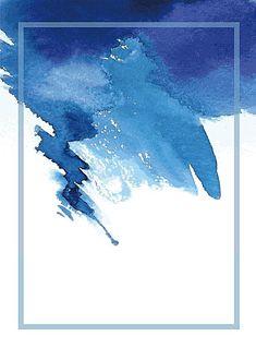 Vector ink watercolor background fresh art Fan, Vector, Blue, Watercolor, Background image