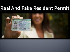 Are you looking to buy real and fake documents? If yes then feel free to contact Express Online Documentation, We print & sell quality documents include Real and Fake Resident Permit, ID-Card, Passport and needy other documents at an affordable price.
