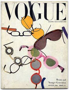 hollyhocksandtulips:    British Vogue, 1946