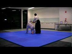 Aikido Melbourne - Shoulder Grab with Sankyo Wrist Lock & Pin