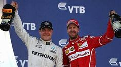 Valtteri Bottas voitti Sotshin osakilpailun, Sebastian Vettel ajo toiseksi.