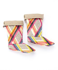 Take a look at this Bright Paint Brush Boot Liner on zulily today!