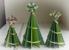 déco de Noël à faire soi-même arbre de noel papier