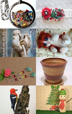 Christmas Gift Ideas for Everyone! by Claude Freaner on Etsy--Pinned with TreasuryPin.com