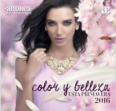 Catalogo Andrea 2016, cosmética de IU Belleza Integral. Esta edición primaveral trae: Lentes de sol, relojes, bisuteria y fragancias