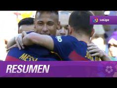 Resumen de FC Barcelona (6-0) Getafe CF - YouTube