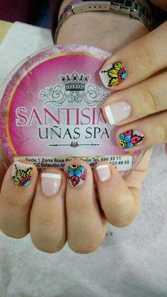 Uñas Uñaa Feet Nails, New Nail Art, Nail Stamping, Pedicure, Nail Designs, Tattoos, Color Rosa, Beauty, Triangles