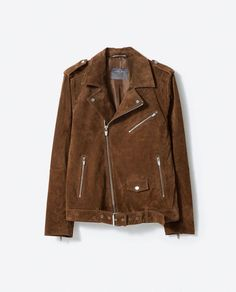 more photos 8279e 35198 Image 8 of PECCARY BIKER JACKET from Zara  MensFashionEdgy