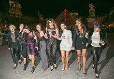 Kim Kardashian Celebrates Bachelorette Party at Eiffel Tower: Details - Us Weekly