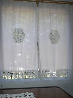 crochet, manualidades , decoraciones para el hogar, cortinas #crochet #craft #handmade #knit #Embroidery