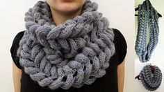 Soft Mohair Cowl Pattern