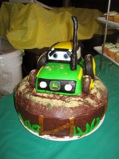 A John Deere Tractor Birthday Party
