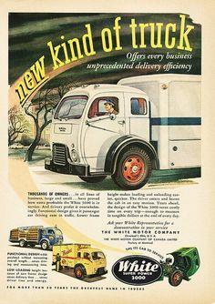 1951 White 3000 Truck