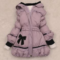 Aliexpress.com : Buy Female child medium long down coat child down coat from Reliable kids wear winter suppliers on Online Store 808363. $34.34