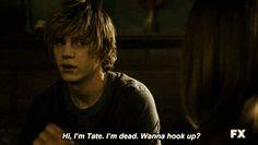 Because Tate Langdon.