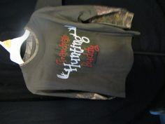 Realtree Ranger Grandpas Hunting Buddy SZ 3T, Long sleeve, Cotton Blend, New  #Realtree #Everyday#grandpashuntingbuddy