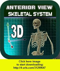 Anterior View Skeletal System, iphone, ipad, ipod touch, itouch, itunes, appstore, torrent, downloads, rapidshare, megaupload, fileserve