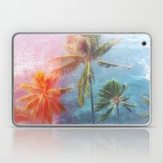 Tropical sun Laptop & iPad Skin
