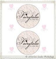 Knipvel 218 grote cirkels tekst fairytales A4