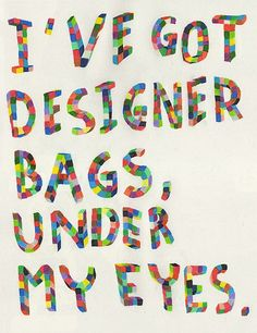 designer bags from all those late nights of crocheting