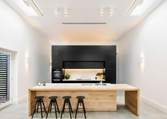 Adelaide Hills Home by Black Rabbit | #kitchen