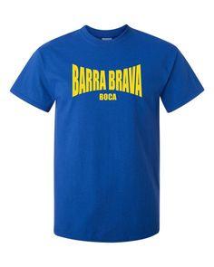 d8b42936f75 BARRA BRAVA T-SHIRT S-XXXL ULTRAS FAN HOOLIGANS FOOTBALLER BOCA RIVER  Printed T